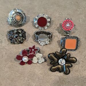Paparazzi rings